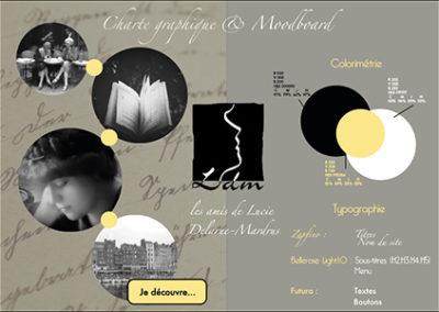 charte graphique et moodboard ldm